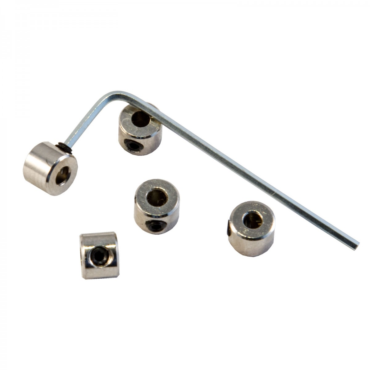 Nickel plated brass cable stoppers
